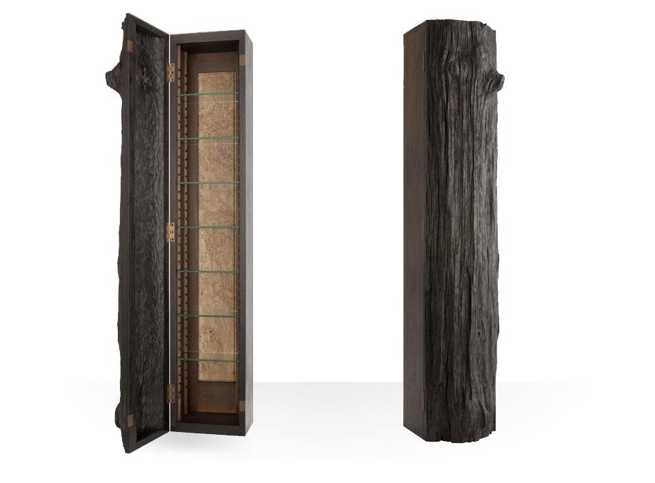 Ancient Oak 'Tree Trunk' Cabinet