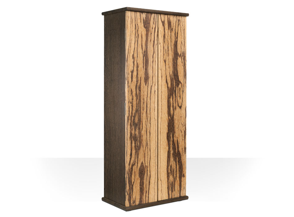 Zebrano and Wenge Cabinet