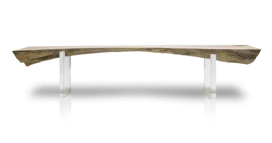 Sycamore Arch Bench