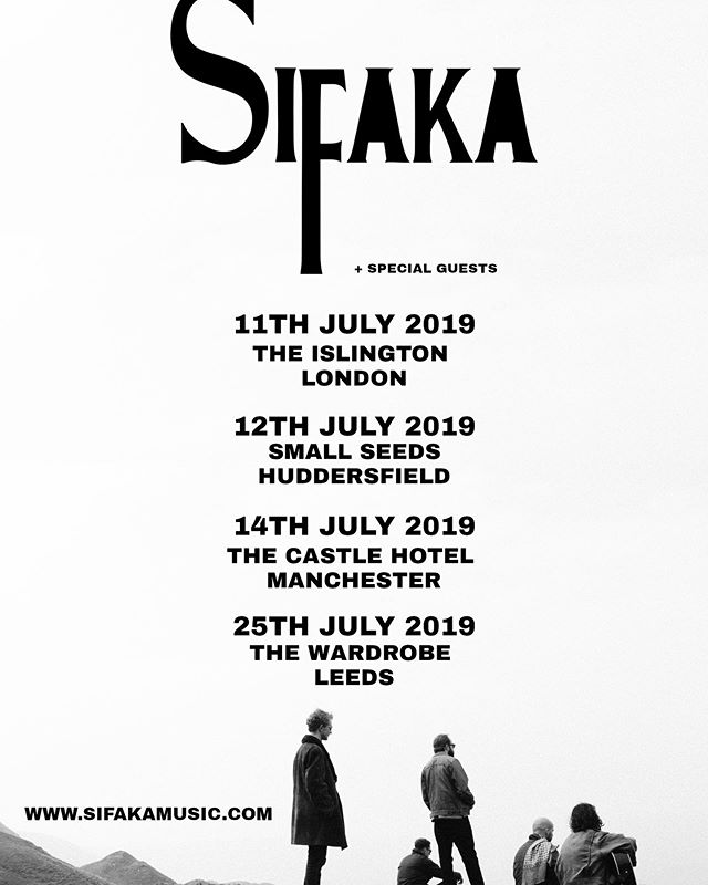 The Sifaka Summer Tour is coming to a town, shire or hamlet near you! Get down! #sifakamusic