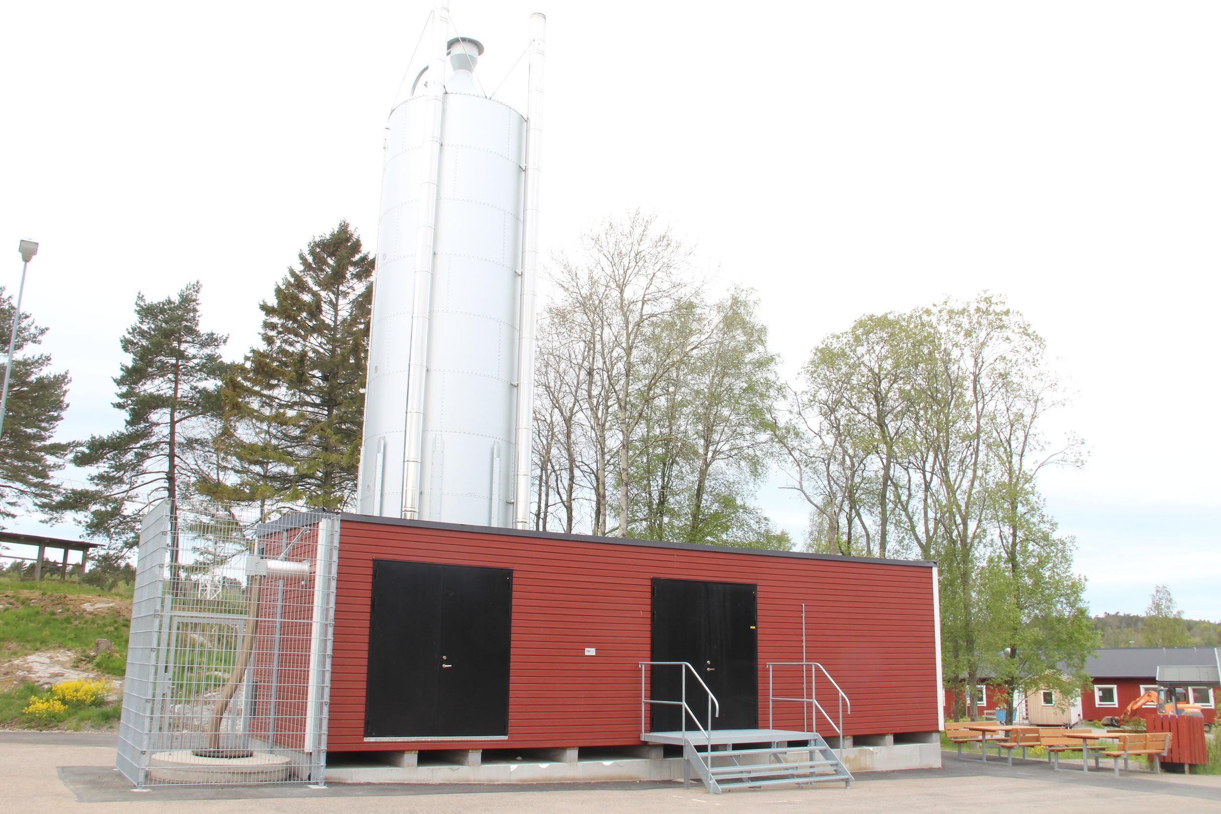 Panncentral 1000 kW i Göteborg -