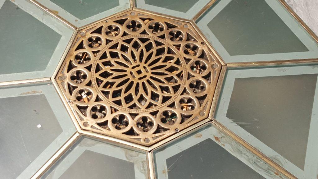 Milan floor grate