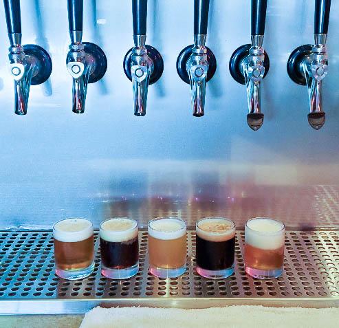 No Quarter Brewing Tasters (1 of 1).jpg