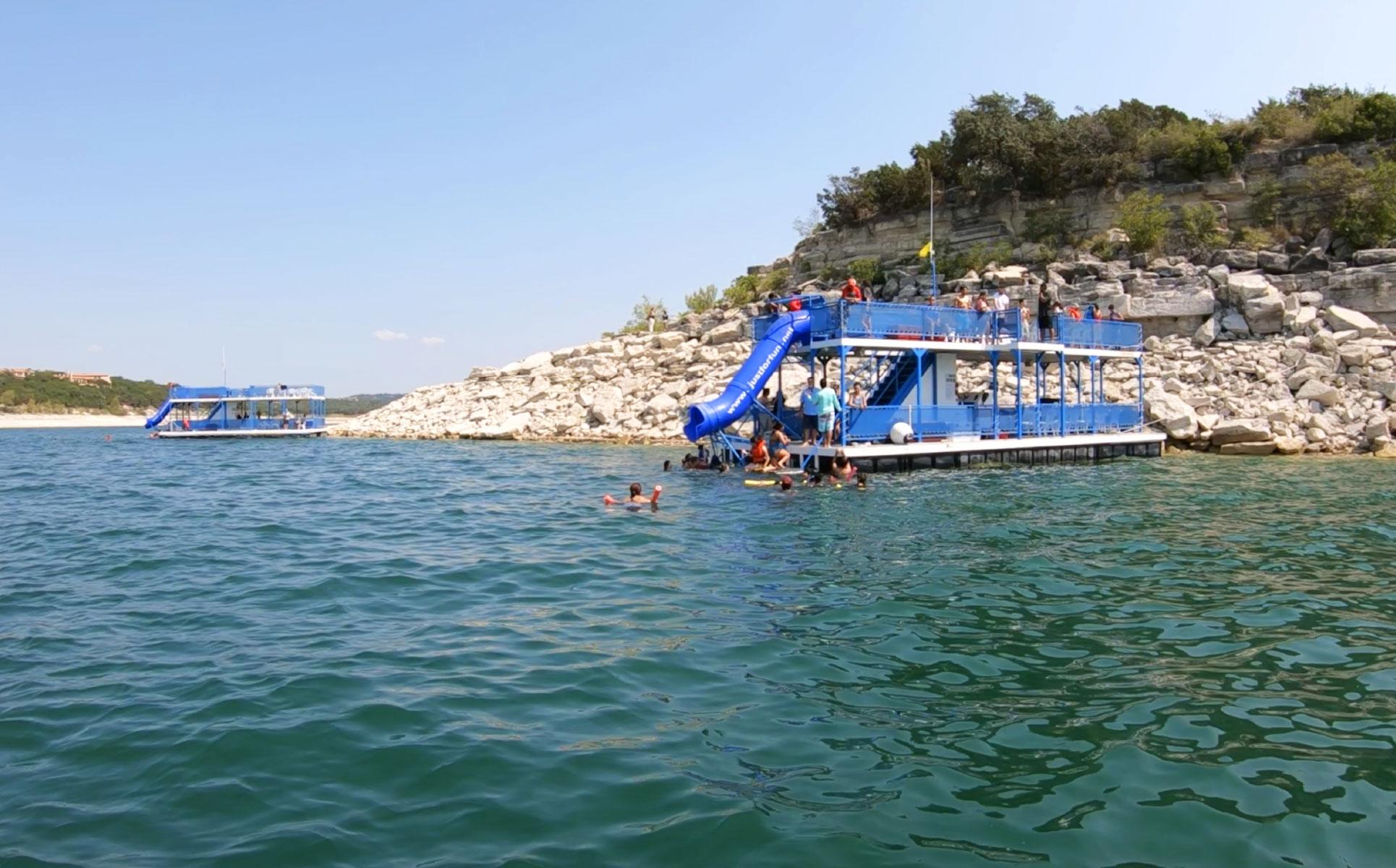 Party Barges — Just for Fun Watercraft Rental on Lake Travis