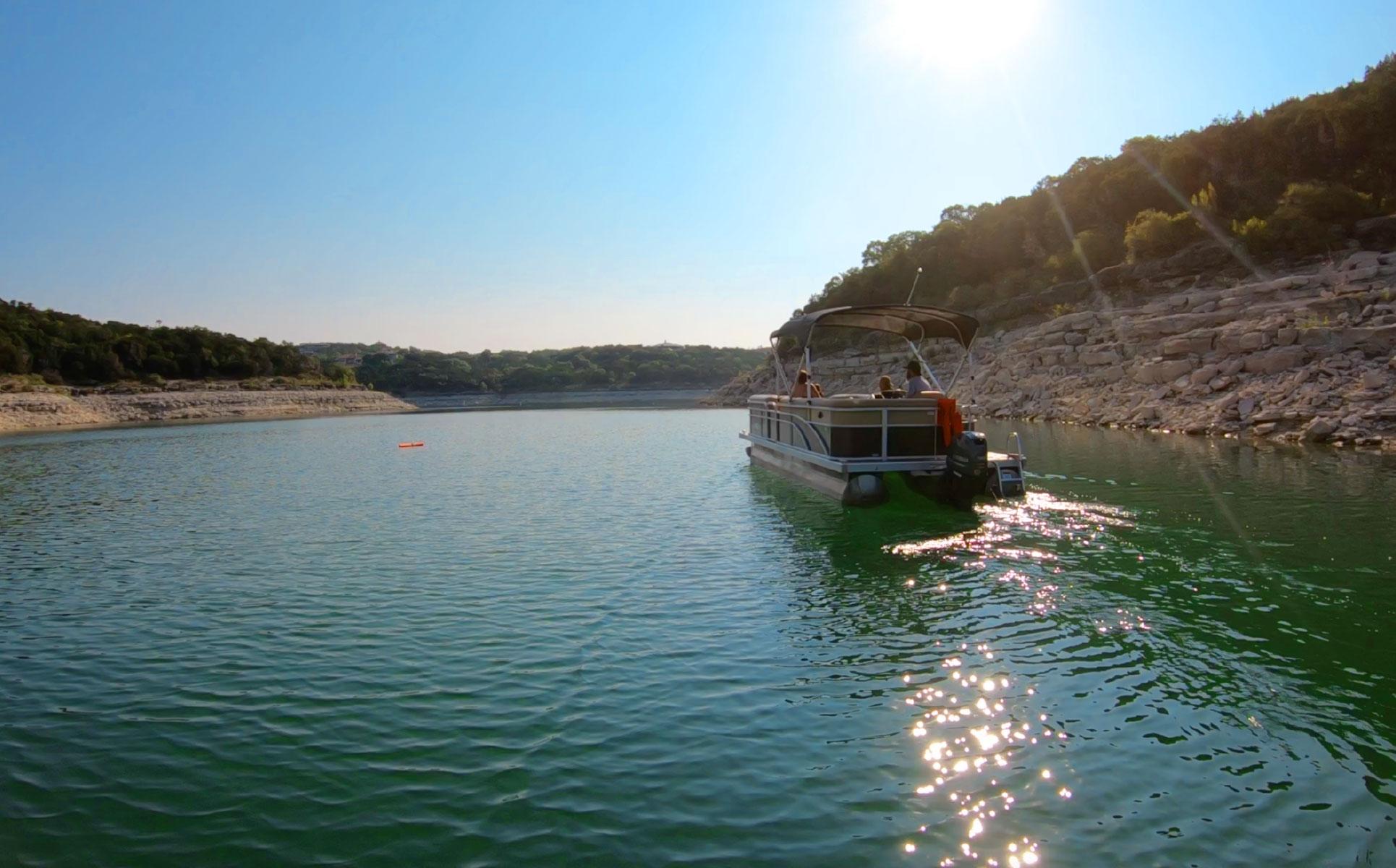 Pontoon Boats Just For Fun Watercraft Rental On Lake Travis