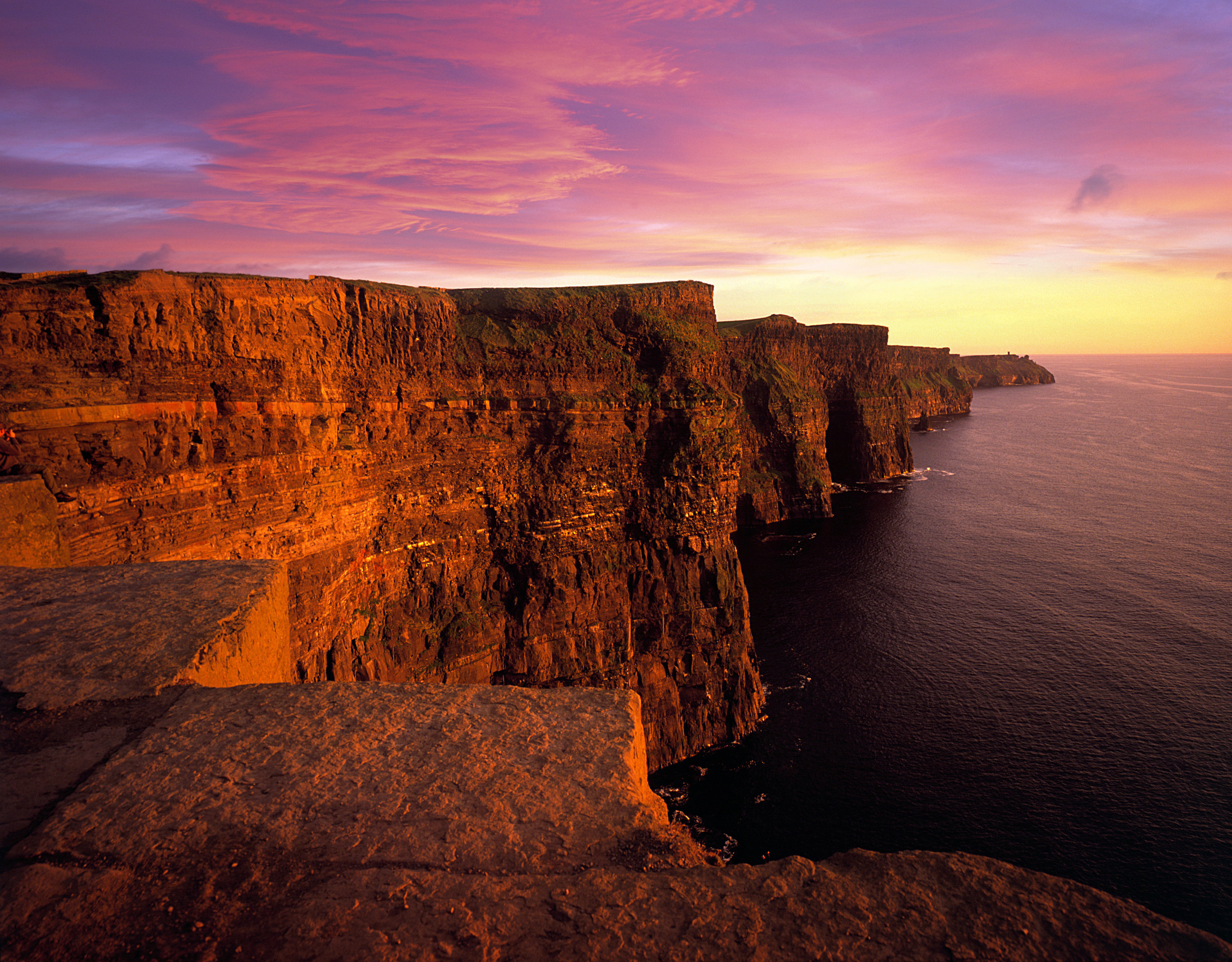 Cliff Coast - Cliffs of Moher, Sunset.jpg
