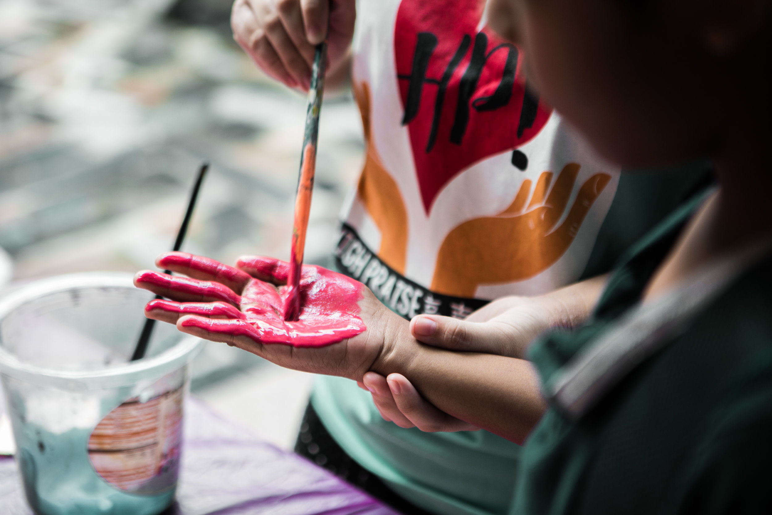 - Messy masterpieces