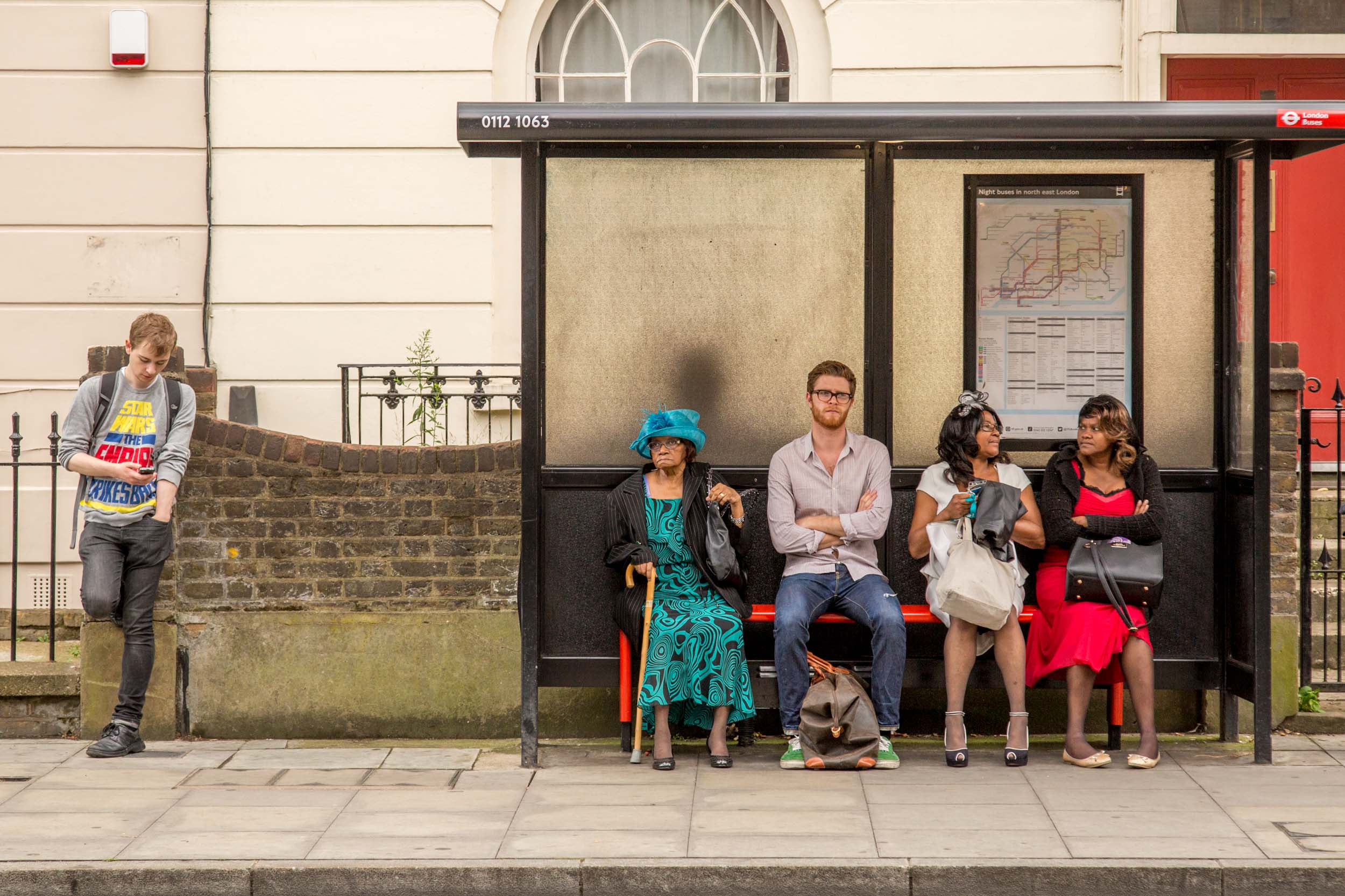 Church Street Bus Stop, London 2014