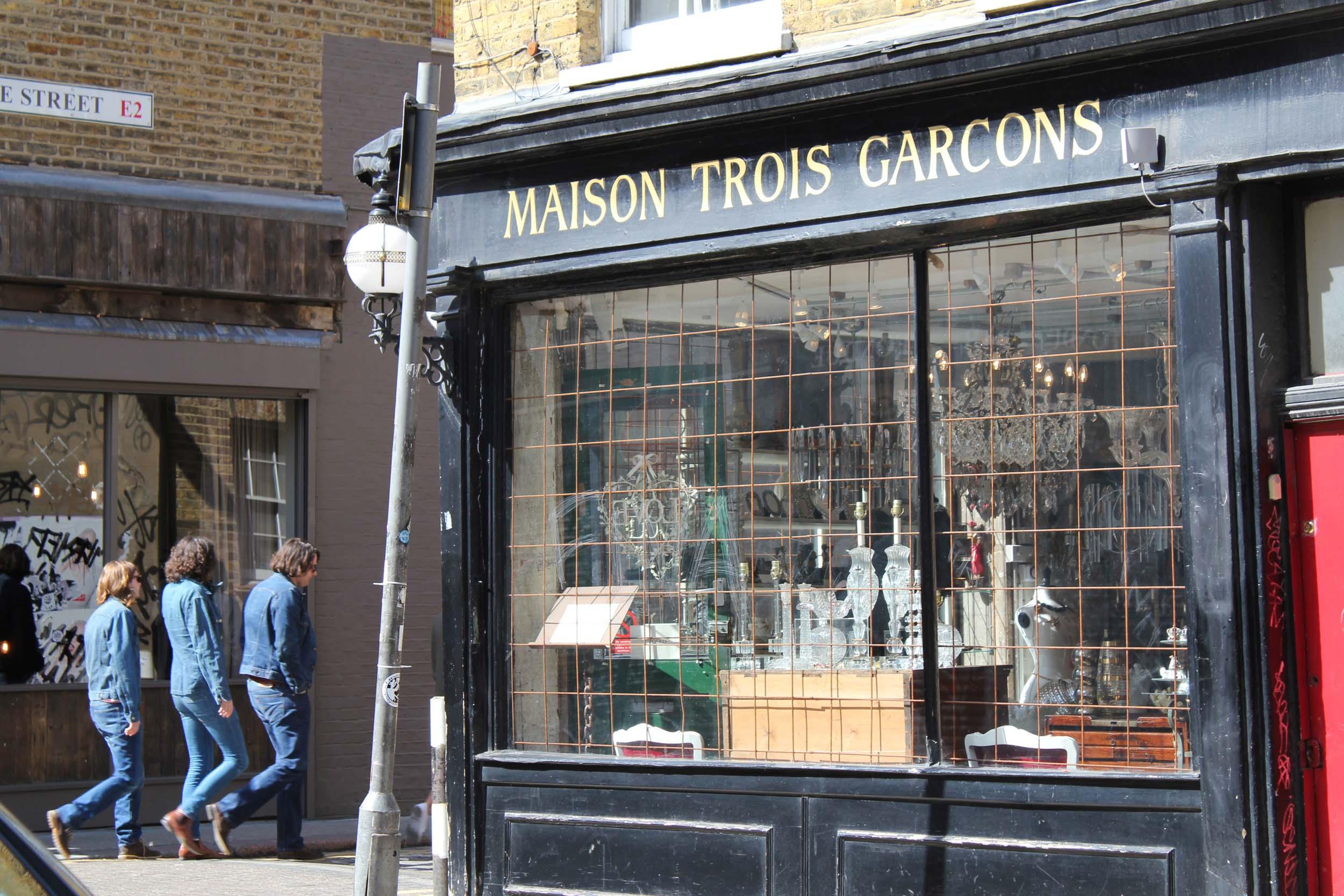 Trois Garcons, London 2011
