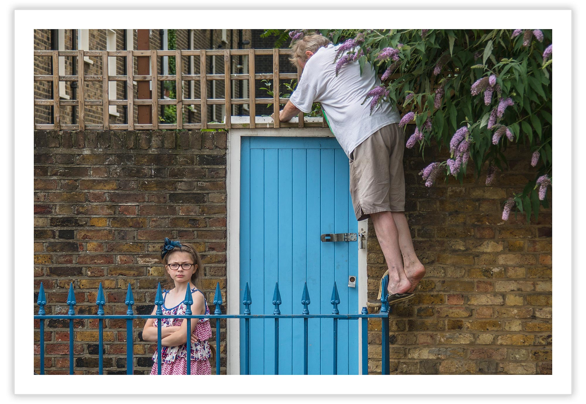 The Blue Door, London 2016.  Click to buy