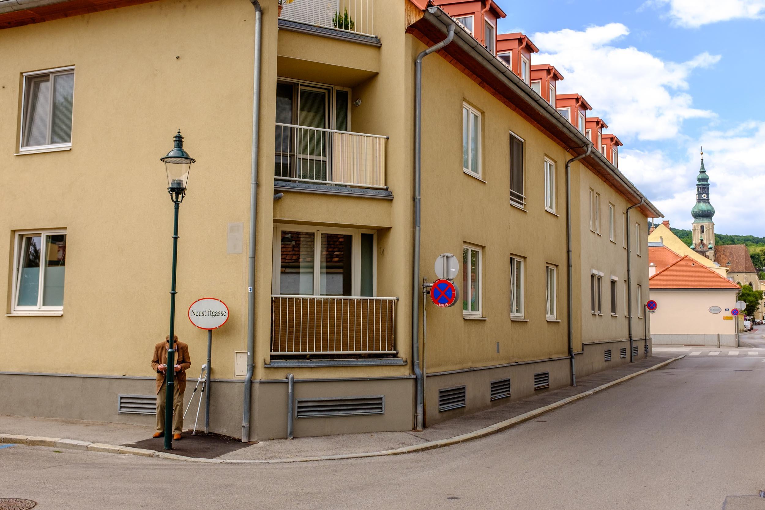 Wait And See What's Around The Corner. Baden Bei Wien, Austria 2018
