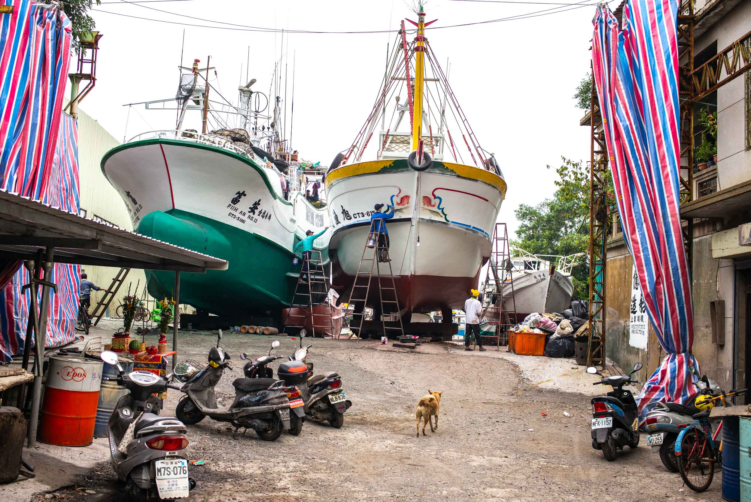 Shipyard. Donggang, Taiwan 2018