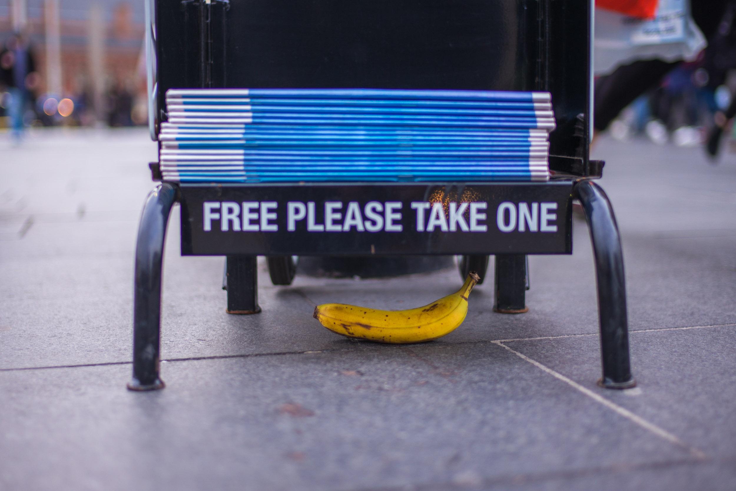 Banana. London 2017