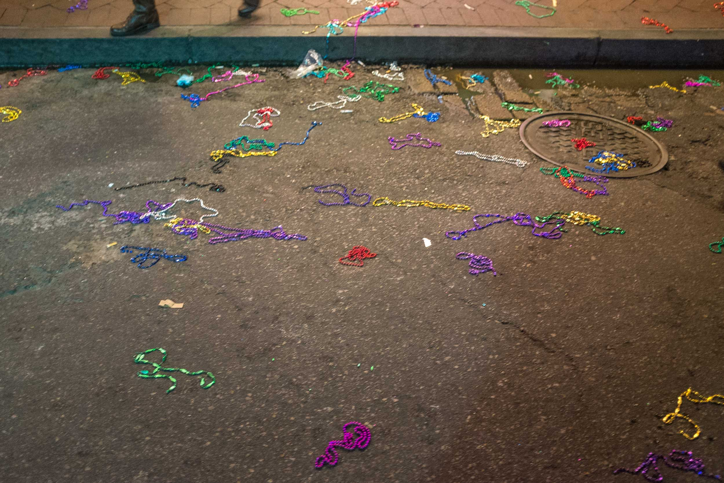 Beads. New Orleans 2015
