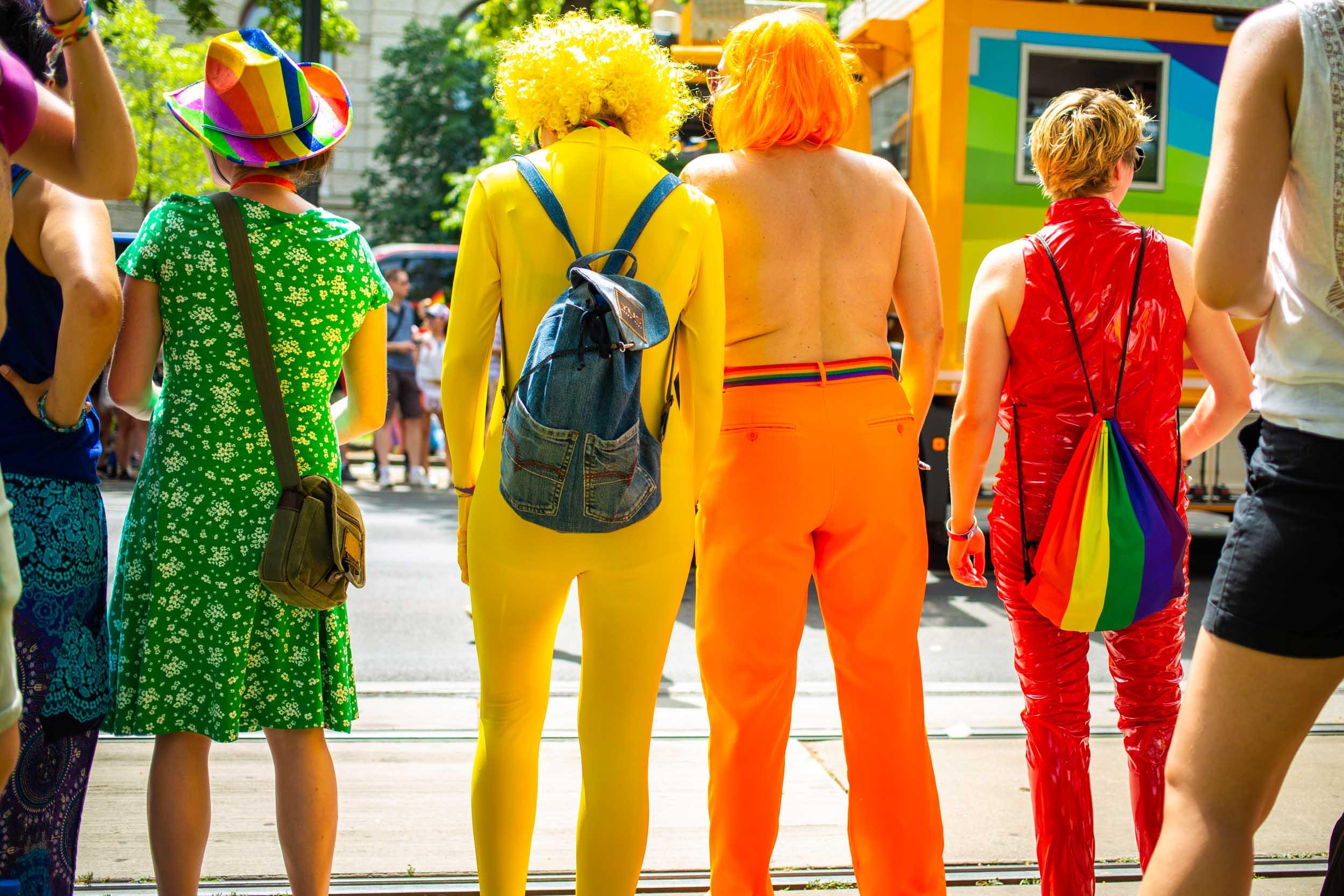 Rainbow People © Michael Goldrei 2019