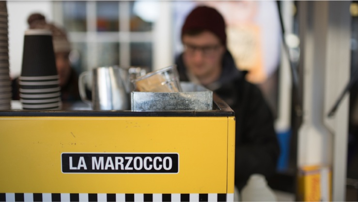 OUR RANGE OF LA MARZOCCO MACHINES - With years of experience in the business of coffee-making, we know which coffee machines are the best and how to get the best out of them. Get in touch to find out how we can help you.We offer a range of the finest La Marzocco machines – together with installation advice and high quality aftersales service – so you can benefit from our specialist knowledge. We can even customise the design of the machines, like ours at Brighton Station, pictured above! In addition, we are able to offer leasing for all new machines and equipment through Focus Leasing – a service that can really help with cashflow and set-up costs in any new venture.