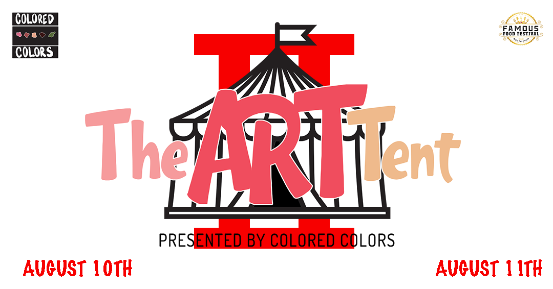 THE ART TENT 2 - We did it again….this time we brought it to Tanger Outlets of Riverhead! Check out the talent that came to the Eastern End of Long Island!!