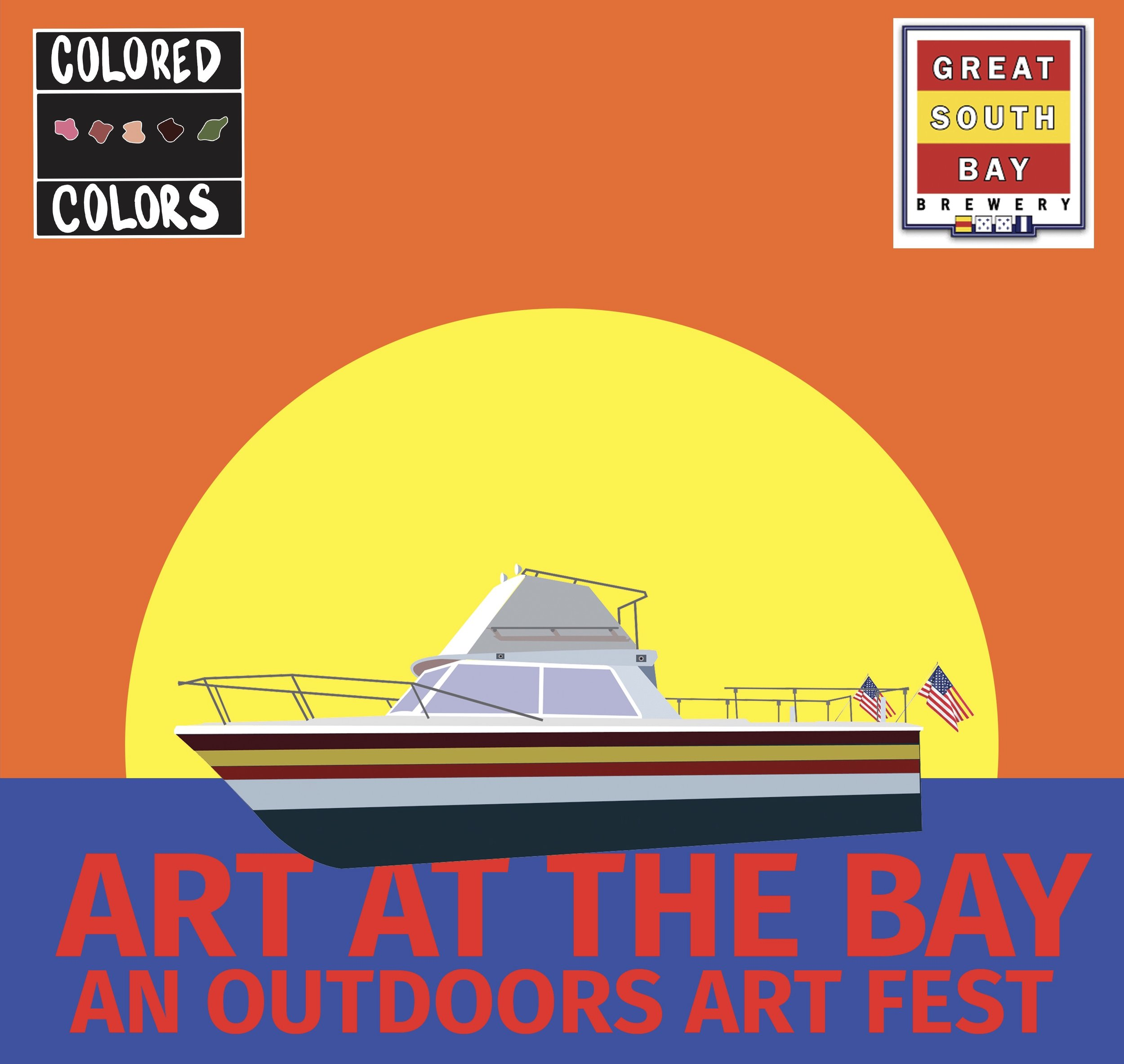 ART AT THE BAY - Our first outdoor art fest at the amazing Great South Bay Brewery. There was so much talent featured at this amazing end of the summer event!