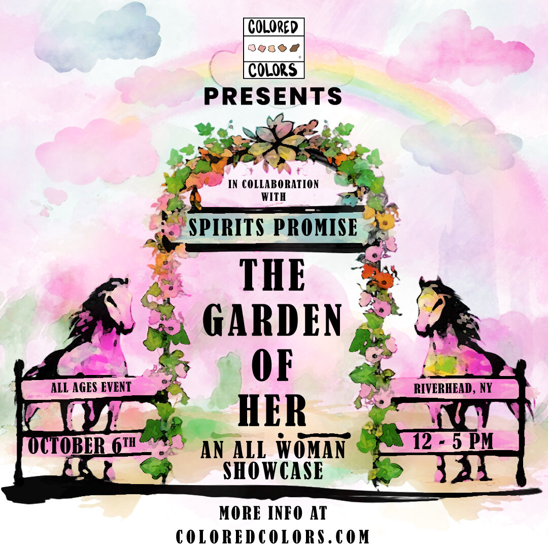 THE GARDEN OF HER - Our first ever event to celebrate the woman creatives of Long Island. We dedicated this event to our women creatives and created a beautiful environment in partnership with Spirits Promise out in the East End.