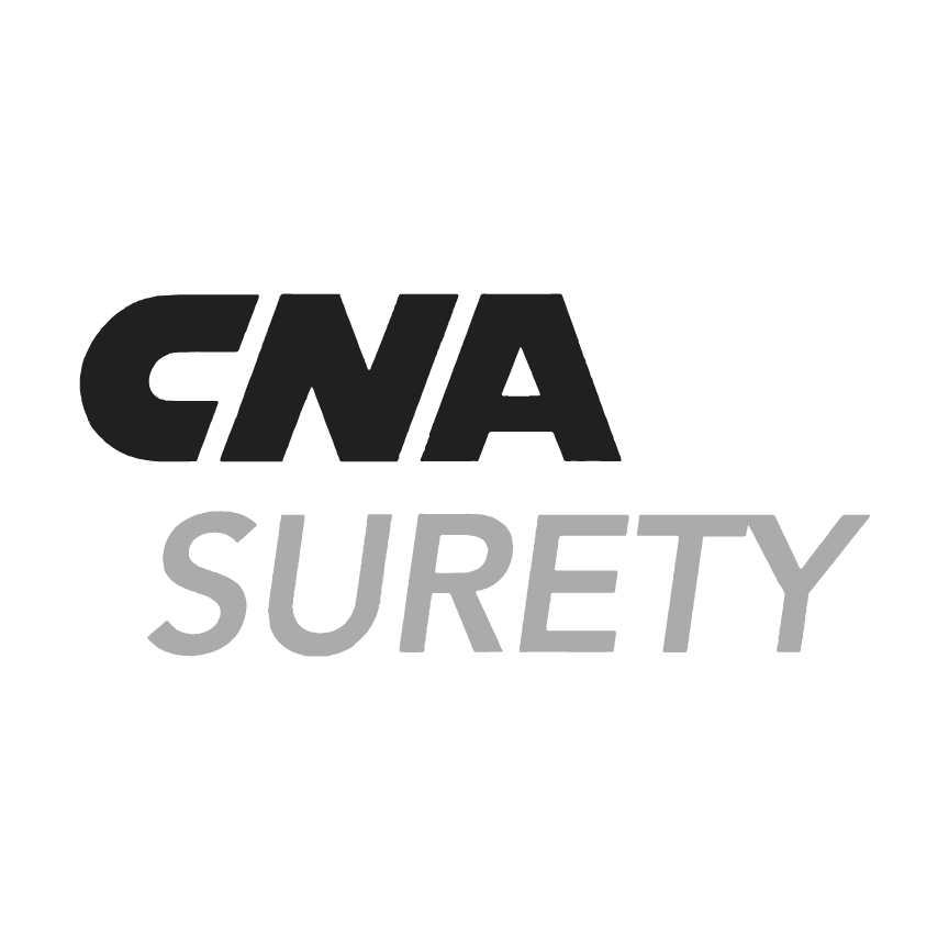 CNA Surety  151 N. Franklin Street – Floor 17 Chicago, IL 60606 1-800-331-6053  www.cnasurety.com