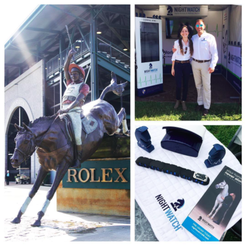 The NIGHTWATCH® team enjoyed their time at Rolex in 2016.