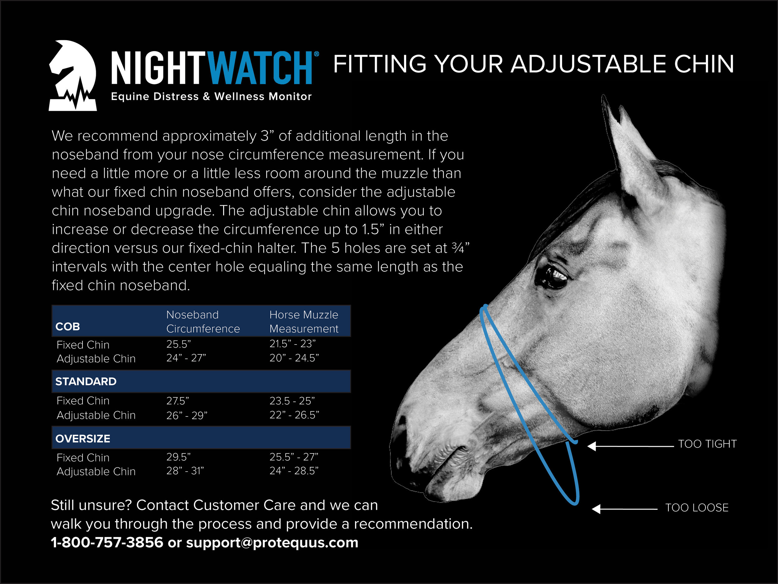 NIGHTWATCH® Adjustable Chin Guide
