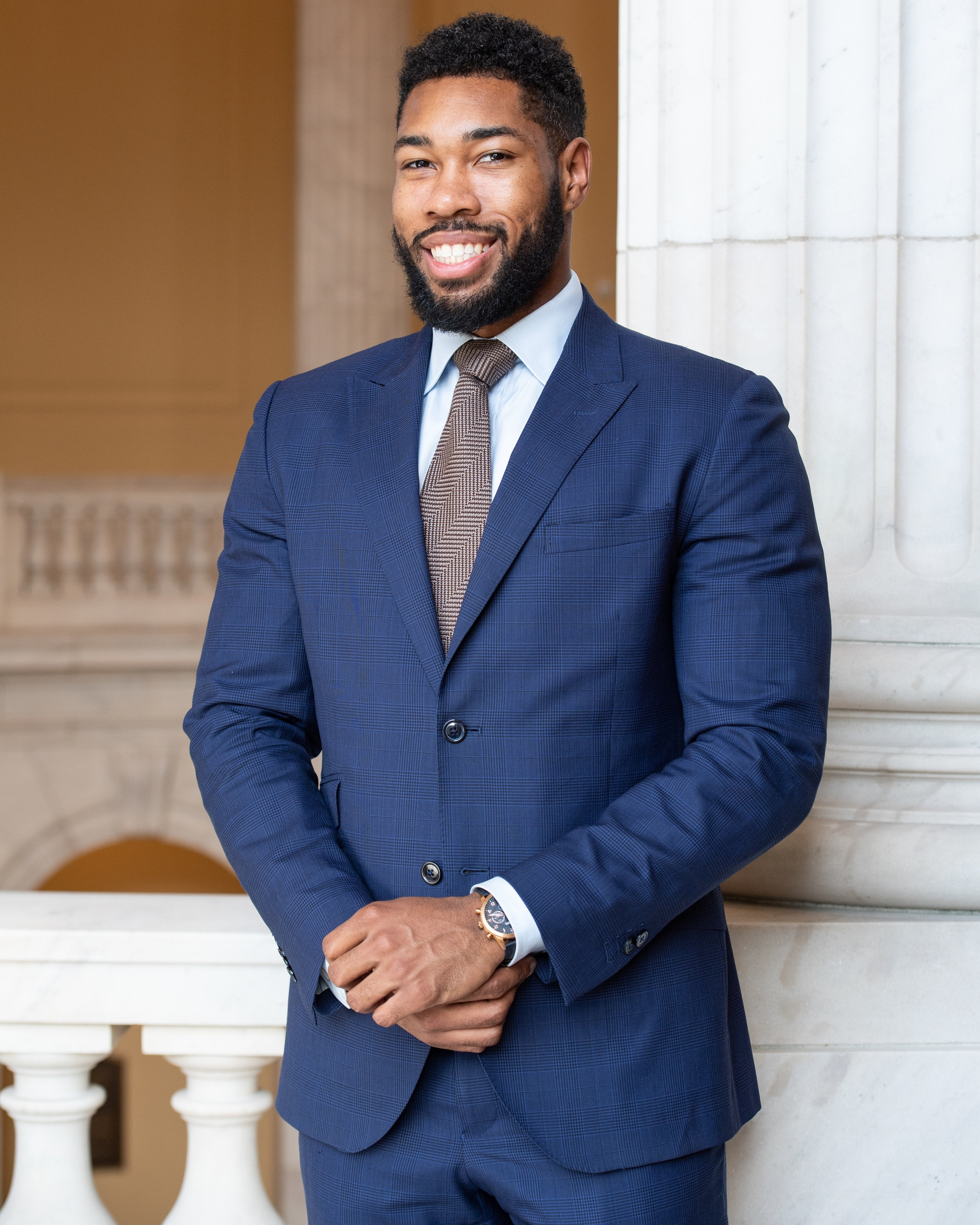 parliamentarian - Paul Nicholas serves as the Staff Assistant in the office of Congressman Steny Hoyer (MD-05). He has been a member of CBA since 2016 where he was an intern in the office Congressman Elijah Cummings (MD-07) as well as the Committee on House administration. Paul grew up in Prince George's County, Maryland and graduated from the University of Maryland, College park where he focused in Public Policy and Business Administration. He is very proud to be part of the 2019 CBA executive board serving as Parliamentarian.