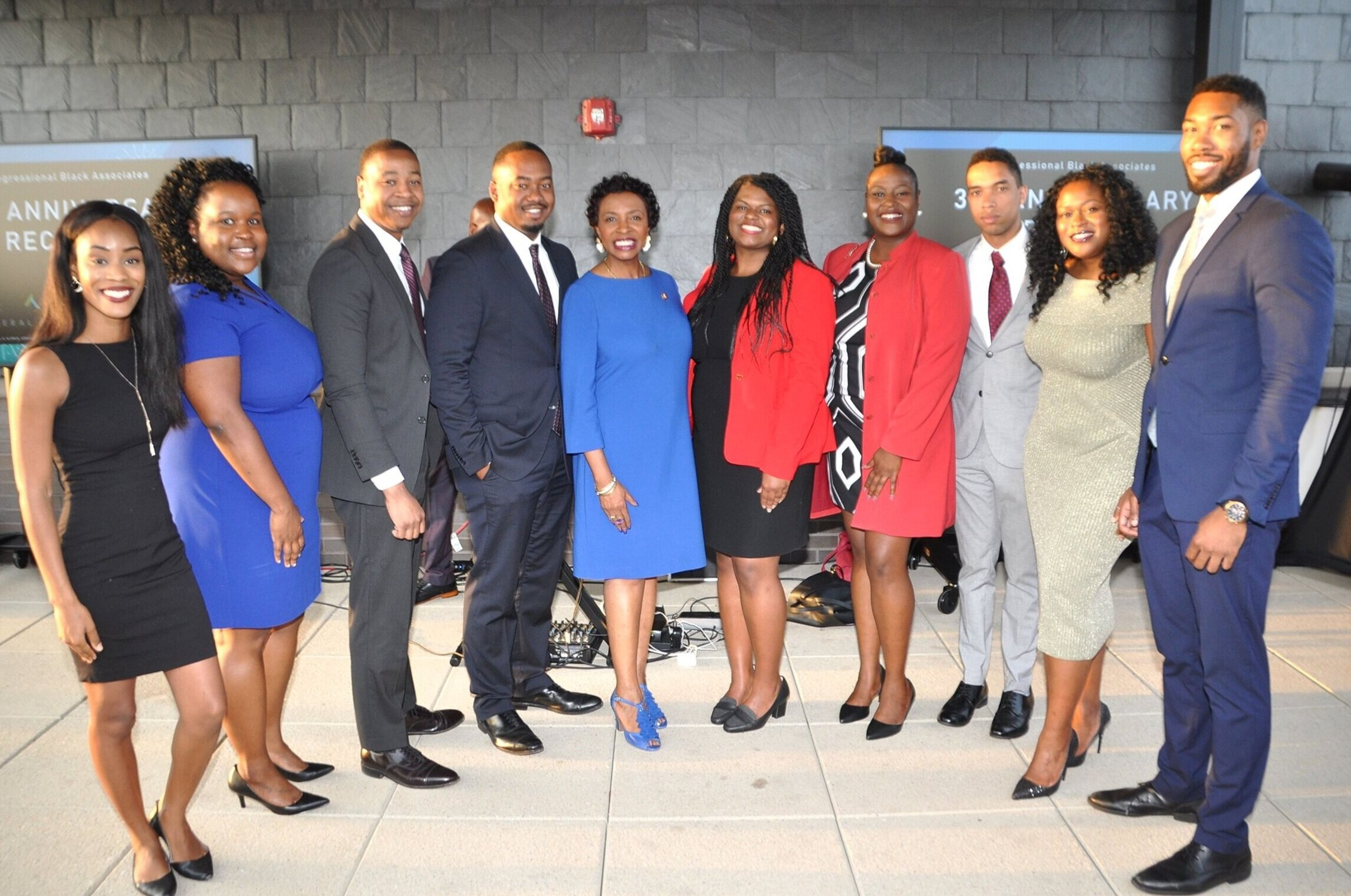 CBA Executive Board pictured with Congresswoman Yvette Clarke