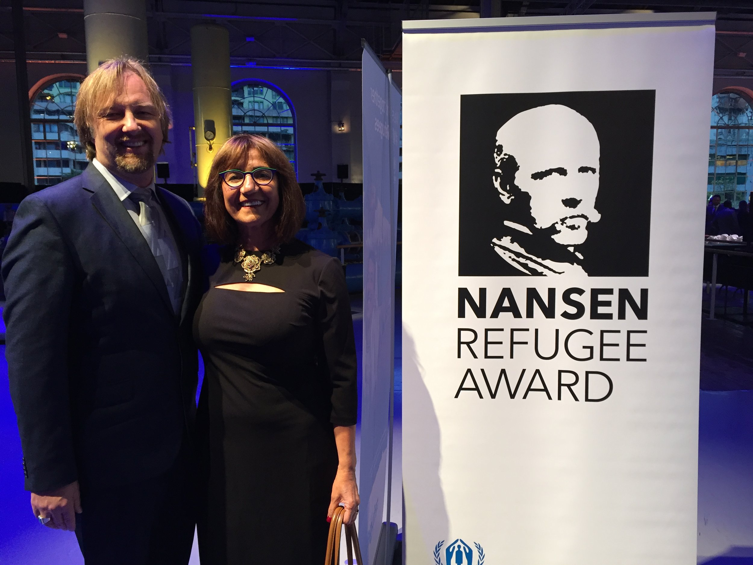 Women of the World is the UNHCR's 2018 Americas Nansen Award Winner - This October in Geneva, Switzerland, Samira Harnish recently was awarded the UNHCR's highest honor for refugee service.The Nansen Award is awarded each year by the United Nations High Commissioner for Refugees and highlights the efforts Women of the World has made in resettling refugees in Salt Lake City.