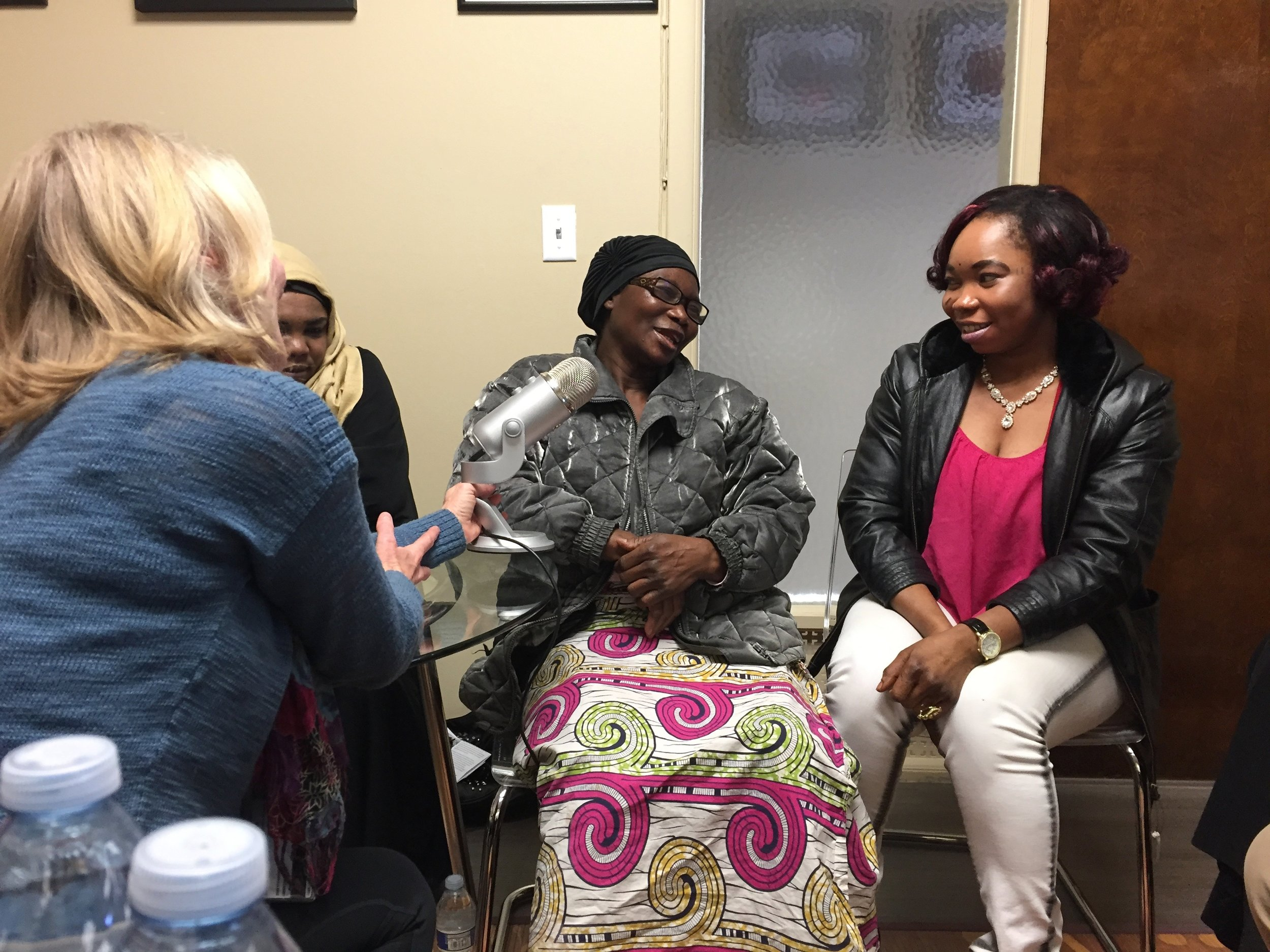 Women share stories about how Abby has helped them during her time here.