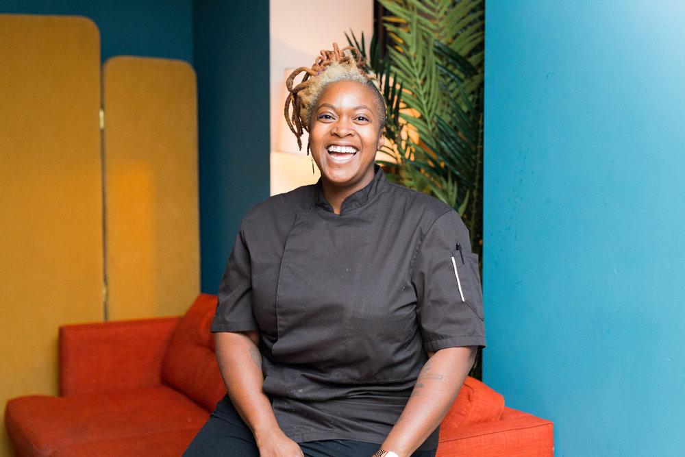 Chef Suzanne Barr