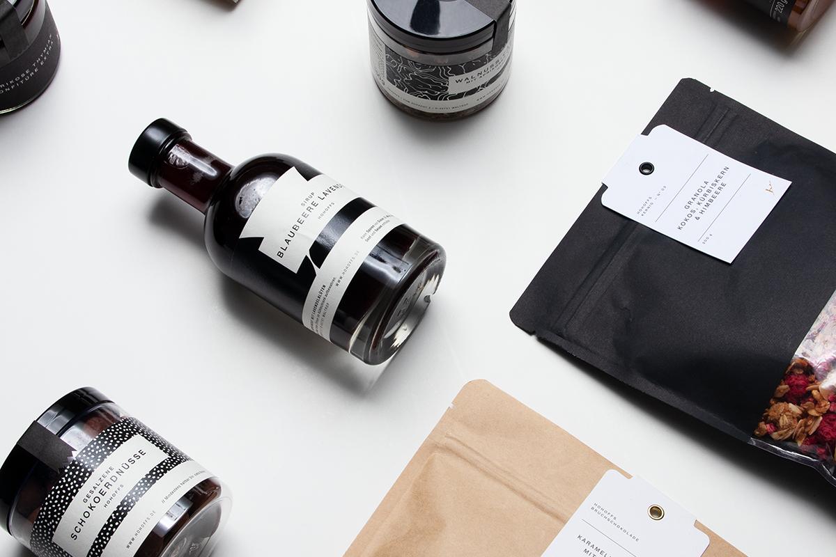Hohoffs Augenlust & Tafelfreuden — Design von Verpackungen