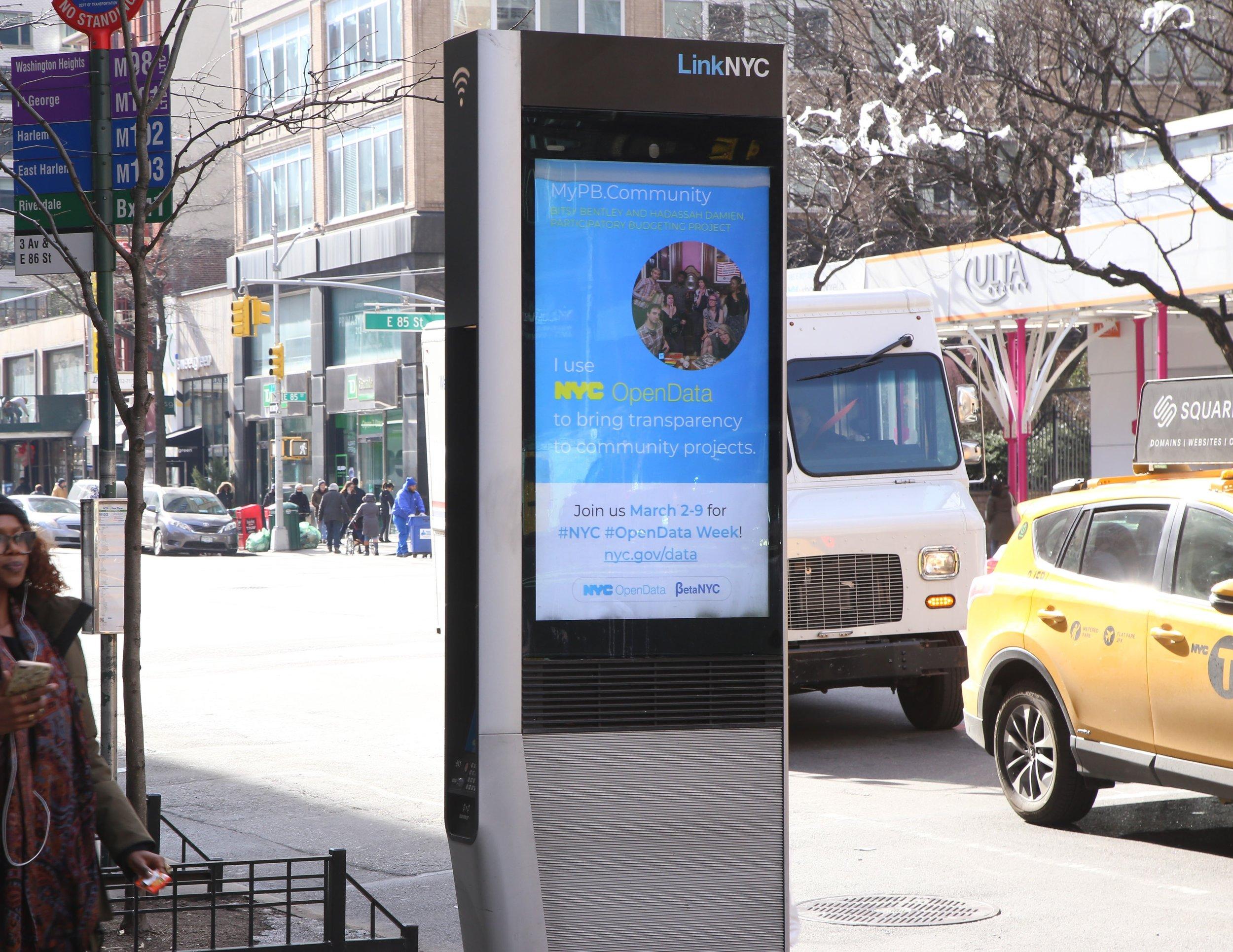NYC Open Data Week 2019 Advertisements — Matt Bishop