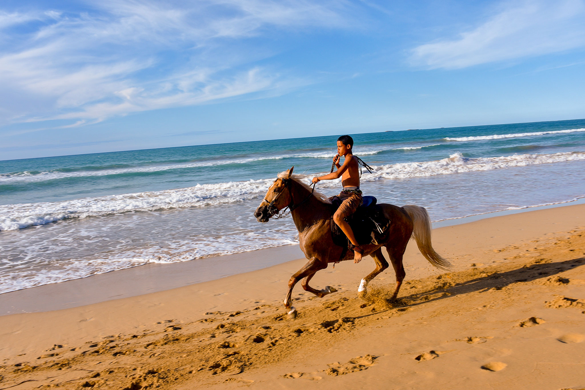horseback riding - Enjoy riding around secluded beaches on horseback, learn to gallop through the shallow caribbean sea, pictures & video included $90 per person