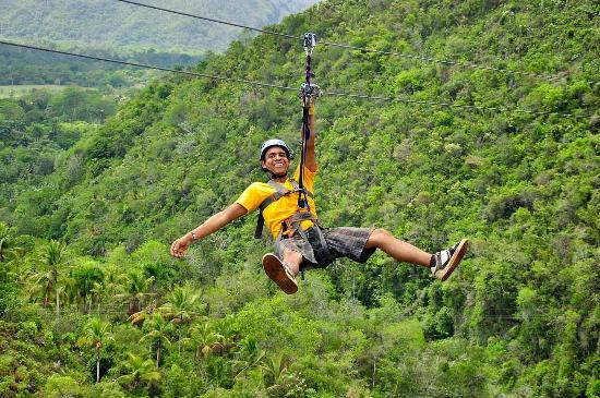 zipline samana - Swing through the trees and witness the breath taking views of Samana $90 per person