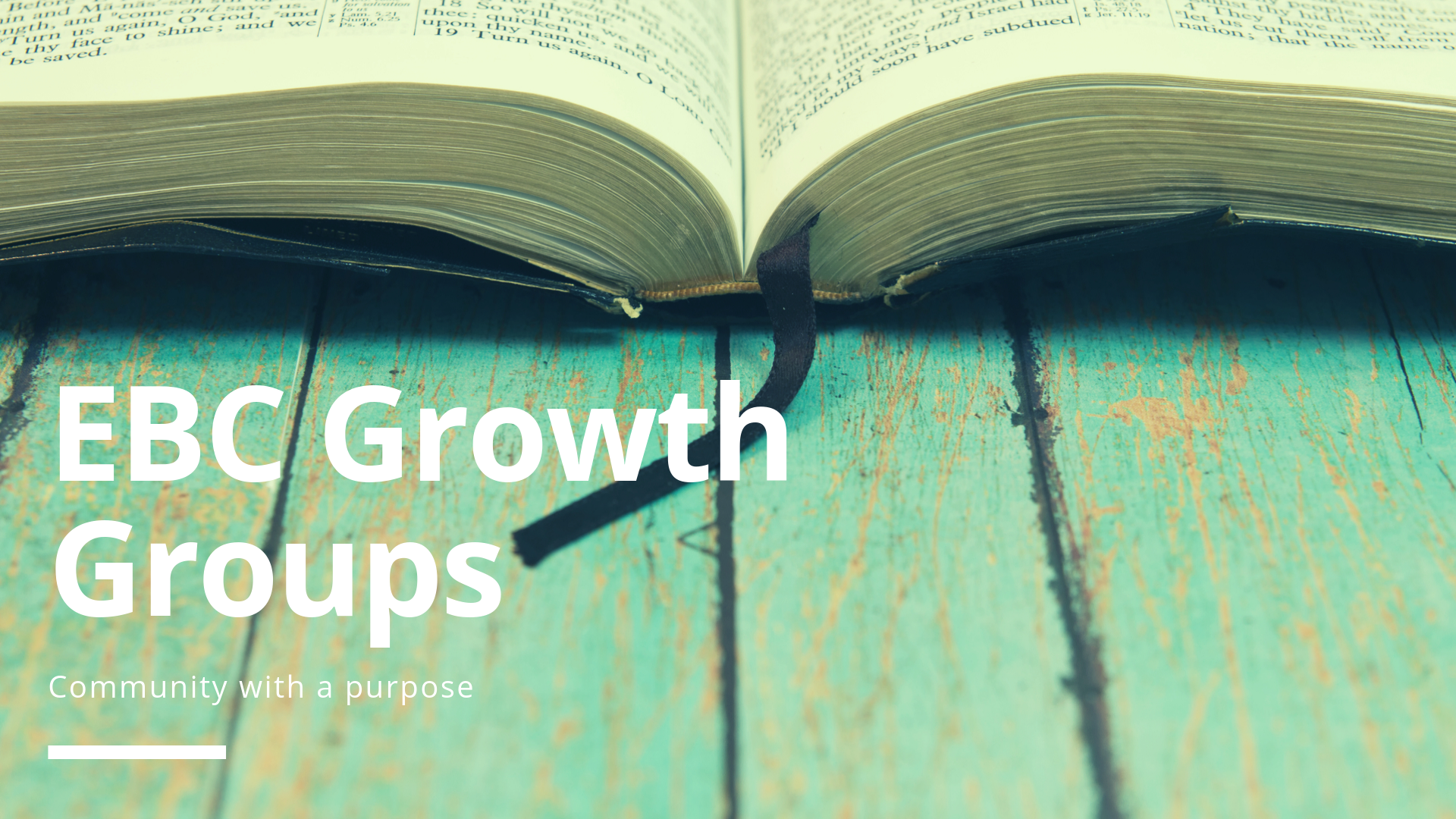 9am Growth Groups -