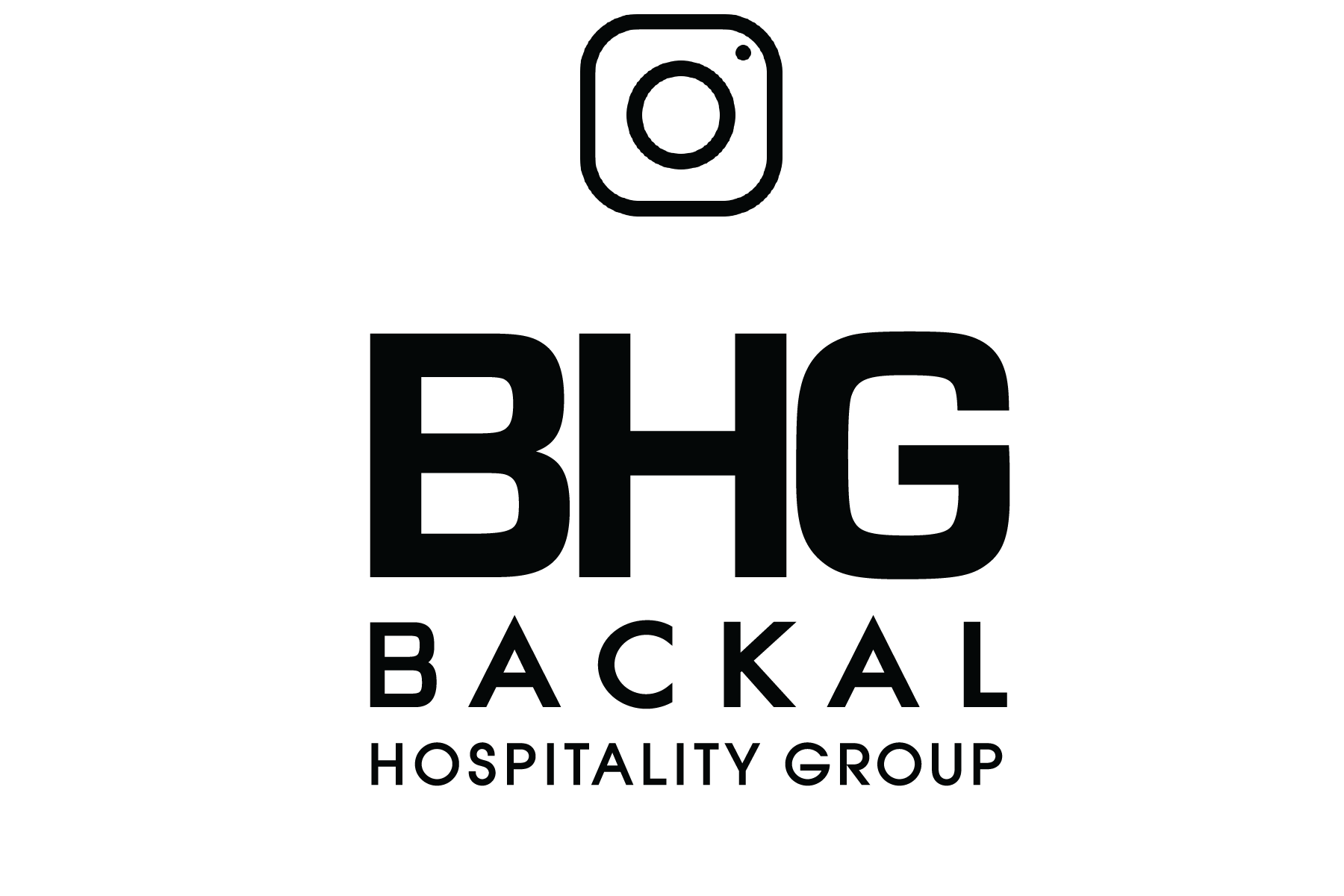Image of Backal Hospitality Group logo with redirect to instagram page when clicked