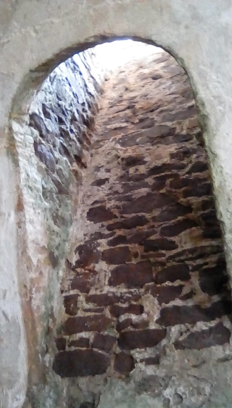 Elmina Slave Castle - looking up to God.jpg
