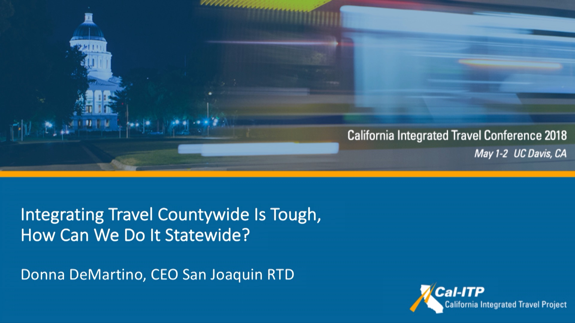 6. Integrating Travel Countywide is Tough