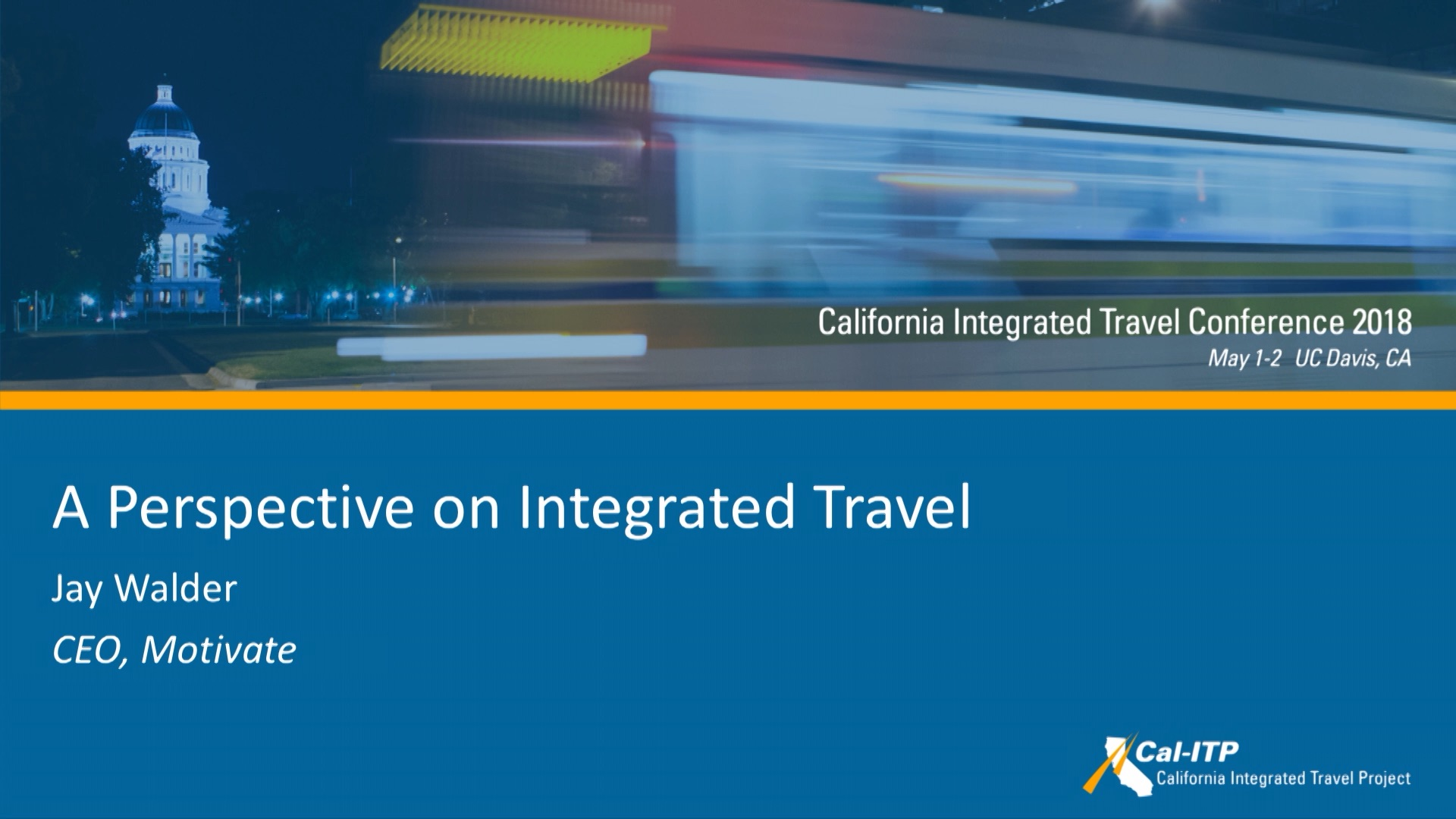 7. A Perspective on Integrated Travel