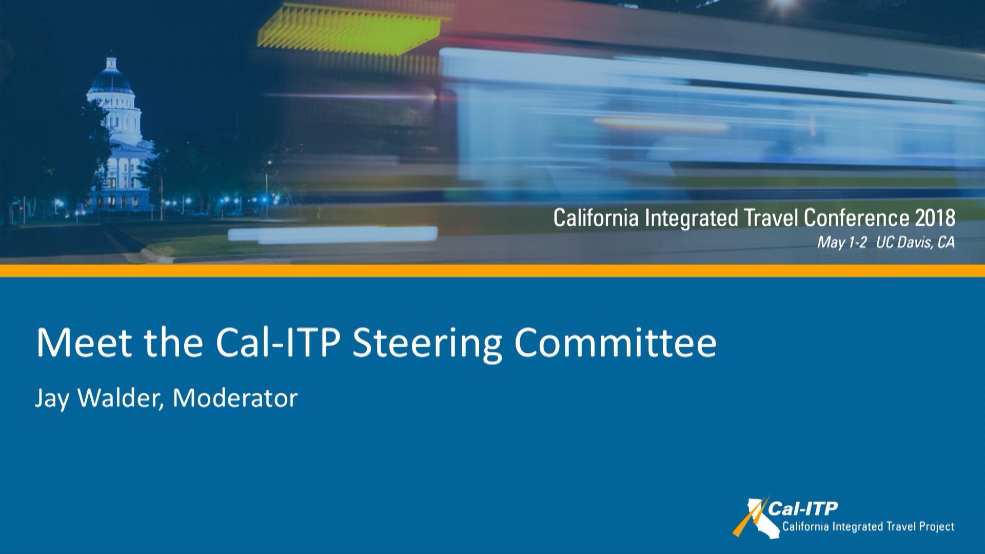 10. Cal-ITP Steering Committee