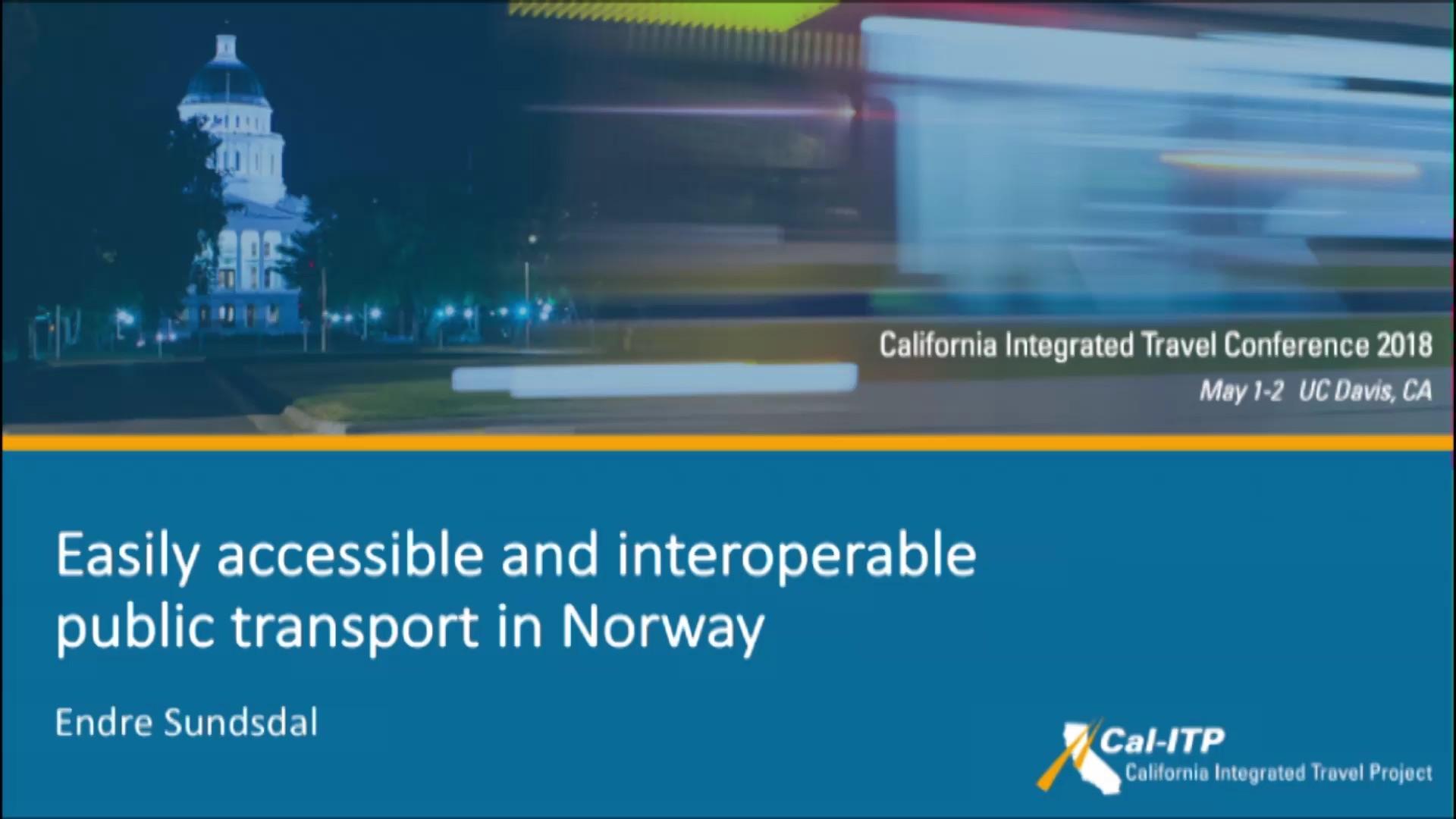 13. Interoperable Public Transport in Norway