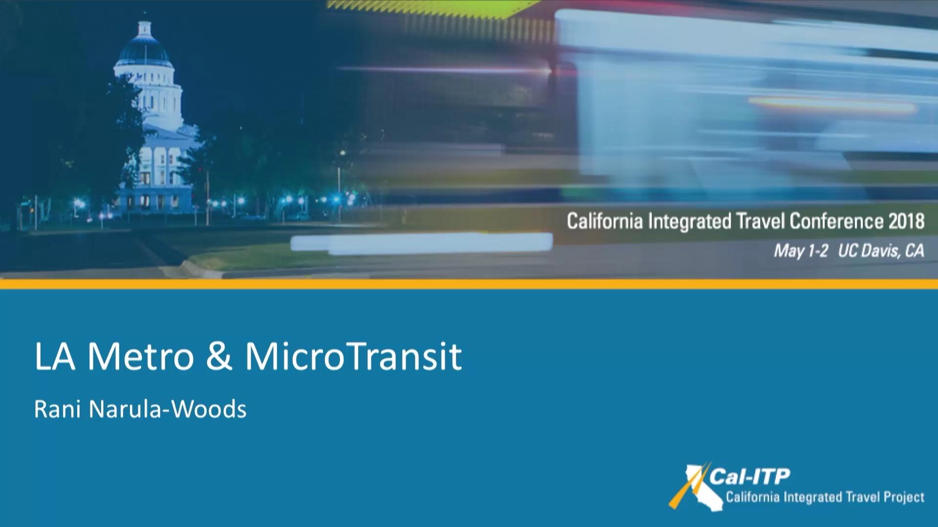 14. LA Metro & Microtransit