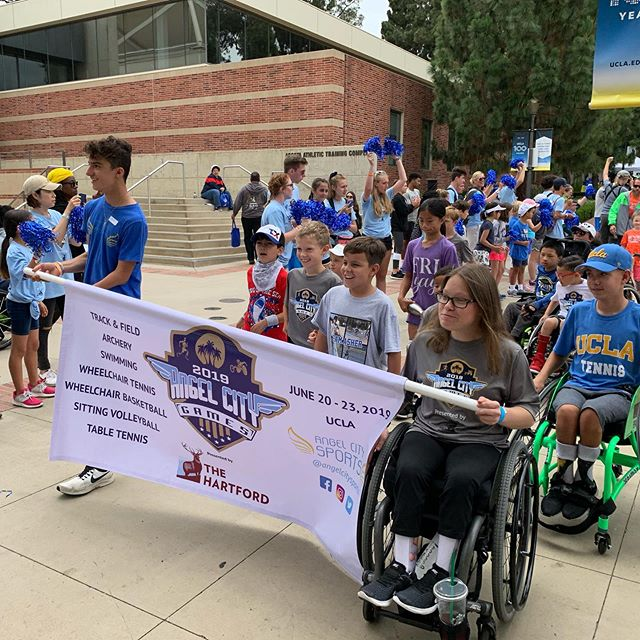 Some more pics from last weekends amazing #angelcitygames. We were so proud to be a part of this incredible display of #adaptivesports, and we look forward to watching@it grow even bigger in years to come. #paralympics #paralympian @angelcitysports #losangeles