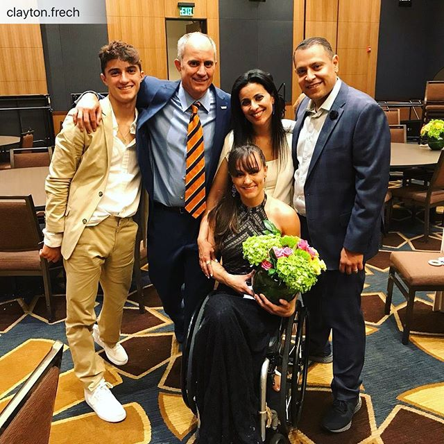 Regram from @clayton.frech:  Last weeks @angelcitysports 2nd Annual Awards Gala was amazing, thanks to the extraordinary planning talents of @sarashereen, @scohen13 and our entire planning committee!  Thank you all of our sponsors, especially for @globalsportsd for the presenting sponsorship of the evening!! Our theme was unlocking dreams, on and off the field. We each shared our dream for the adaptive sports community. It was powerful!! We had GREAT stories, from An athlete, a parent, supporter, a cousin, an almost athlete, and sponsors who are all in with us!  Our speakers all rocked, including @jnavach @malloryweggemann @realtracylmurray @thehartford Mike C. @melanie_raffle_armenti and Ken Firtel!!