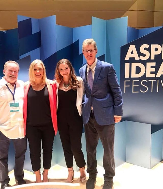 """The superb production and fine panel discussion ...made many salient points about predatory behavior & child sexual abuse."" Great review of #attheheartofgold at #aspenideasfestival in the @aspendailynews. #sidewinderfilms #sistersurvivors  Photo: @jessicaann_23  Link in bio."