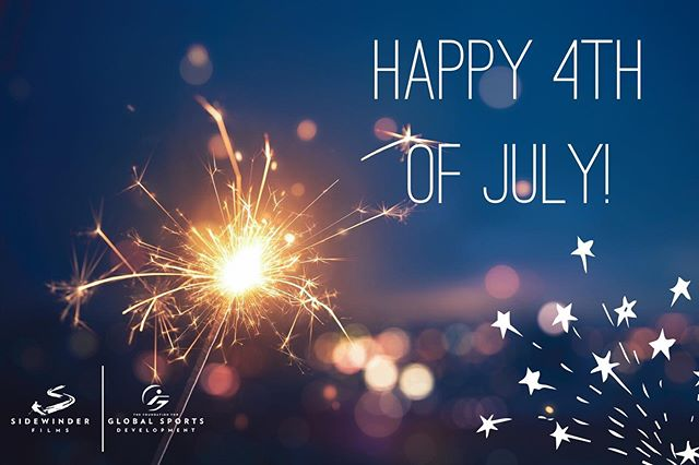 The Foundation for Global Sports Development and Sidewinder Films want to wish everyone a fun, festive, and safe Independence Day! 🇺🇸 🎇 🗽  #fourthofjuly #independenceday