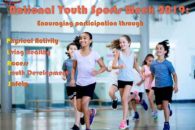 Happy #NationalYouthSportsWeek! We're celebrating by highlighting the work done by the National Council of Youth Sports (#NCYS) to get kids involved in #youthsports.  Learn more by reading our latest blog, and then get out there with your kids and #PLAY! Link in bio.
