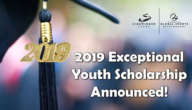 The Foundation for Global Sports Development's Exceptional Youth Scholarship has been awarded to 10 #Classof2019 college-bound students who will receive $5,000 each to help offset #college expenses. Learn more about the winners and #scholarship at our blog (link in bio).