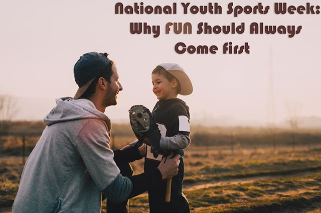 As we celebrate #NationalYouthSportsWeek, we must focus on what it is that makes kids want to play #sports in the first place—and what drives them away.  For more tips on keeping #youthsports fun, healthy and safe, read our latest blog. Link in bio.